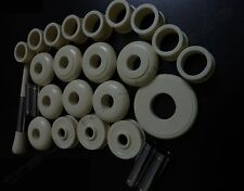 Scottish Bagpipes Full set 27-Pcs Mounts Imitation Off-white Colour