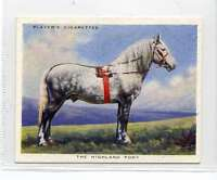 (Jl811-100) Players,Types Of Horses,The Highland Pony,1939 #22