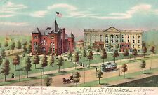 Marion,Indiana,Normal College (Now Indiana Wesleyan College),Used,1909