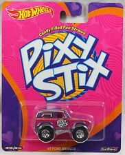 2017 Hot Wheels Pop Culture Nestle Candy Diecast Pixy Stix '67 Ford Bronco