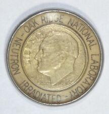 1947 Oak Ridge National Lab Encased Silver Roosevelt Dime Neutron Irradiated