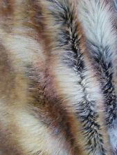 "Metatron Faux Fur Canadian fox honey 60"" width. Sold by the yard."