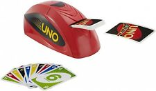 Uno Extreme Family Fun Card Game Electronic Mattel Games Dealing Machine Cards