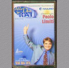 """PAOLO LIMITI """" ALLE DUE SU RAI 1 """"MC MUSICASSETTA SIGILLATA RARA CONT. SIGLA TV"""