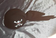 24 PIRATE SKULL CAP PARTY FANCY DRESS STAG NIGHT WEEKEND DRAMA QUALITY