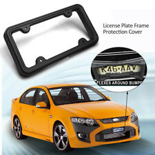 Car SUV Pickup Front Bumper Guard Anti-Collision License Plate Frame Protection