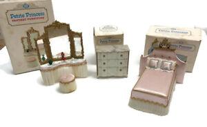 IDEAL Petite Princess Fantasy Furniture Vtg Princess Bed Dressing Table Dresser