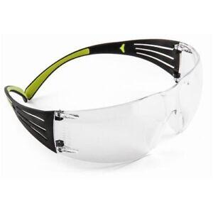 3M SF401AF SecureFit 400 Series Protective Eyewear, Clear Lens, Anti-Fog