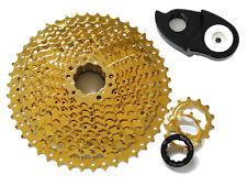 SunShine Gold 11S MTB Bike Wide Ratio Cassette 11-46T, w/ Wide Range Components