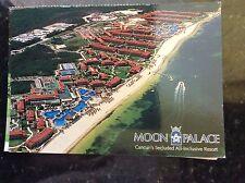 b1c postcard used hotel moon palace mexico