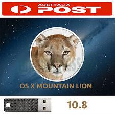 Mac OSX Mountain Lion 10.8 OS X Install Recovery USB Mac Pro MacBook Air iMac