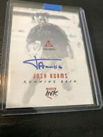 2018 Luminance Eagles Josh Adams RC Rookie Ink Auto SSP Red #d 2/10! Clean 💥💥