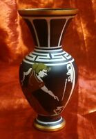 HYDRA WOMAN GARGOYLE GREEK METAL COPPER MINI VASE HAND PAINTED MADE IN GREECE