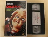 CHILD'S PLAY - VHS horror movie Video English and Chinese Subtitles Rare