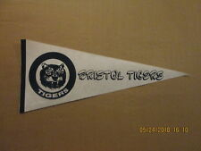 Appalachian League Bristol Tigers Vintage Defunct Circa 1980's Baseball Pennant