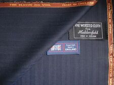 "HARRISONS OF EDINBURGH ""FINE CLASSIC""ALL WOOL SUITING FABRIC MADE IN ENGLAND3.4m"
