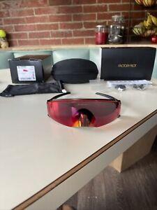 Oakley Kato Polished Black/Prizm Road Lens Sunglasses New Superhero
