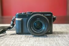 Panasonic LUMIX DMC-LX100 12.8MP Digital Mirrorless Camera - Black
