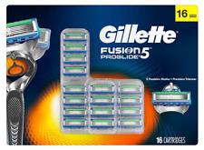 Gillette Fusion 5 Proglide Razor Refill 16 Cartridges