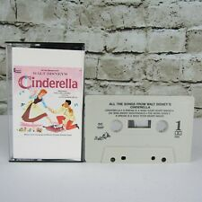 Walt Disney Cinderella Original Motion Picture Soundtrack Audio Cassette Tested