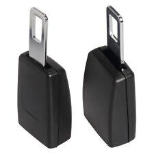 New 2pcs Universal Auto Car Seat Belt Buckle Clip Extender Safety Alarm Stopper