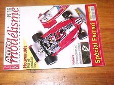 $$$ Revue Auto modelisme N°16 Champions FerrariF50312 TEau Rouge250 GT