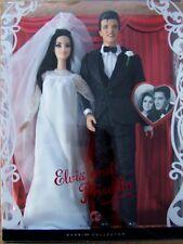 ELVIS & PRISCILLA BARBIE DOLL WEDDING GIFTSET NRFB