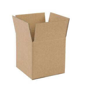 """100pcs 7"""" x 7"""" x 7"""" White Corrugated Shipping Mailer Packing Box Paper Boxes"""