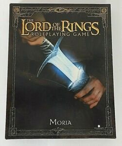 The Lord of the Rings Role Playing Game RPG Moria Decipher Games 2003 Box Set