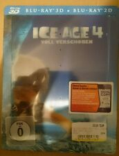 Ice Age 4 lenticular Media markt steelbook brand new and sealed