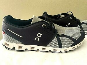 MENS ONCLOUD ON CLOUD CLOUDTEC RUNNING SHOES BLACK GRAY & WHITE SIZE 10