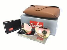 Ray Ban Aviator RB3025 019/Z2 Silver Flash Copper Pink Mirror Lens 58mm