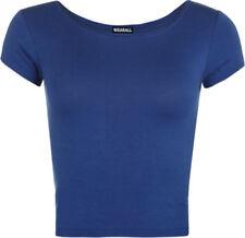 Camisas y tops de mujer de manga corta color principal azul Talla 36