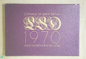 1970 COINAGE OF GREAT BRITAIN AND NORTHERN IRELAND IN ORIGINAL PACKAGING