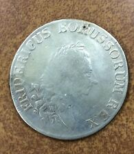 {BJSTAMPS} Germany PRUSSIA Thaler 1785 B FRIEDRICH II .75 silver