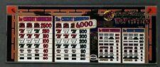 IGT S2000 Slant Top Slot Machine TRIPLE ZESTY HOT PEPPERS Glass