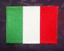 ITALY FLAG PATCH ITALIAN FLAG EMBROIDERED PATCH DIY SEW/ IRON ON