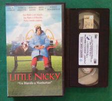 VHS FILM Ita Commedia LITTLE NICKY adam sandler arquette ex nolo no dvd(VH98)