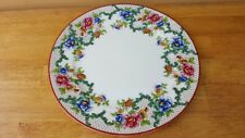 Set of 6  Victoria Smooth Rim LUNCHEON PLATES by Royal Cauldon 8.75 ""