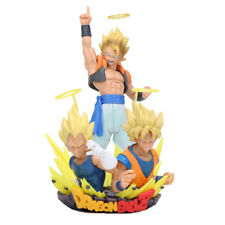 DRAGON BALL Z - Diorama Gogeta, Goku, Vegeta Super Saiyan 21 cm figure