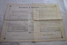 PIEDIGROTTA 1927-SULDATO 'ENAPULE-NICOLARDI/CIOFFI-LI'ONNE 'E MARECHIARE-MARIO