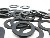 """Various Pack Sizes Black 5//8/"""" Rubber Washer 1//8/"""" Thick 1/"""" OD"""