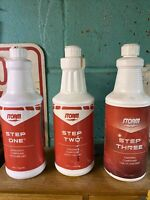 Storm Pro Finish Bowling Ball Compound Step 1 2 3, 32 oz./Quart Set Open Full