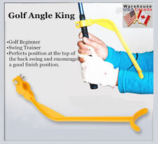 2pcs Golf Swing Trainer Practice Guide Gesture Alignment Angle Wrist Correct