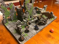 Dungeon Ruin City 28mm Terrain Tabletop WarGame Dungeons & Dragons Scenery D&D