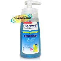 Clearasil Daily Clear Hydra Blast Gel Wash 150ml Facial Cleanser Face