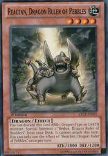 Yugioh! Reactan, Dragon Ruler of Pebbles - LTGY-EN095 - Common - 1st Near Mint,