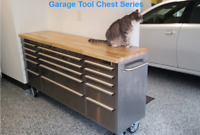 """Thor 72"""" 15 Drawers Tool Chest Cabinet Rolling Storage Sliding Box Work Bench US"""