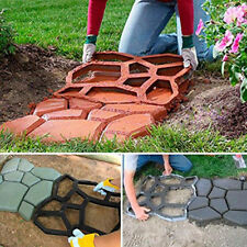 Garden Pavement Paving Mold Stepping Path Walkway Cement Brick Maker Mould