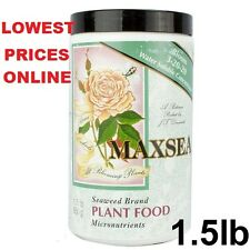 Maxsea Bloom 3-20-20 Plant Food 1.5 lbs - water soluble seaweed fertilizer